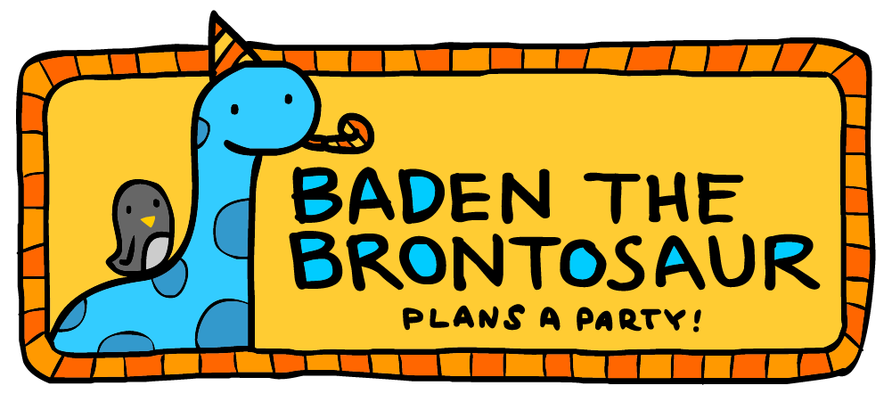 Baden the Brontosaur Plans a Party!